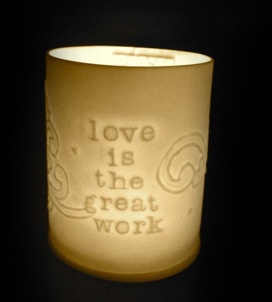 love is the great work