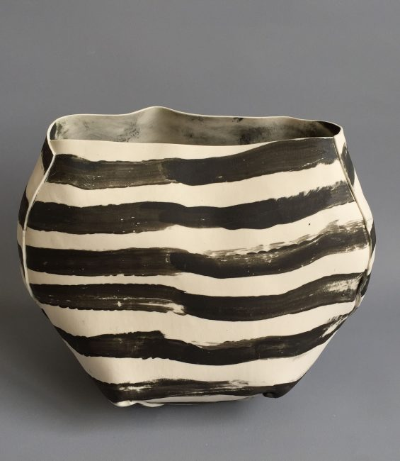 brushstroke soft pot