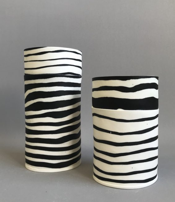 thick stripe cylinders