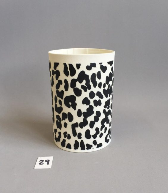 #29 leopard graphicware cylinder